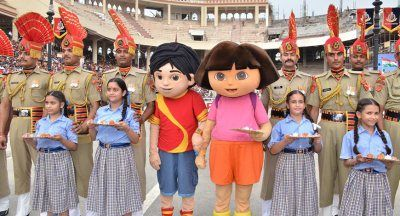 Nickelodeon India Celebrates Surakshabandhan With Border Security Force