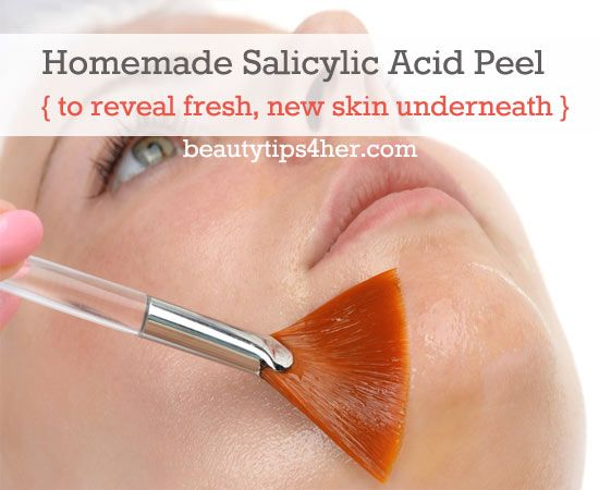 Homemade Salicylic Acid Peel to Reveal Fresh New Skin Underneath | Look Good Naturally