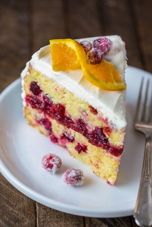 Baker By Nature Cranberry Orange Cake