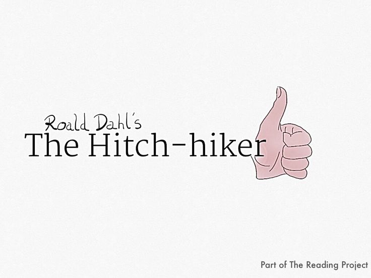 Roald Dahl's Hitch-hiker The Reading Project Audio Book