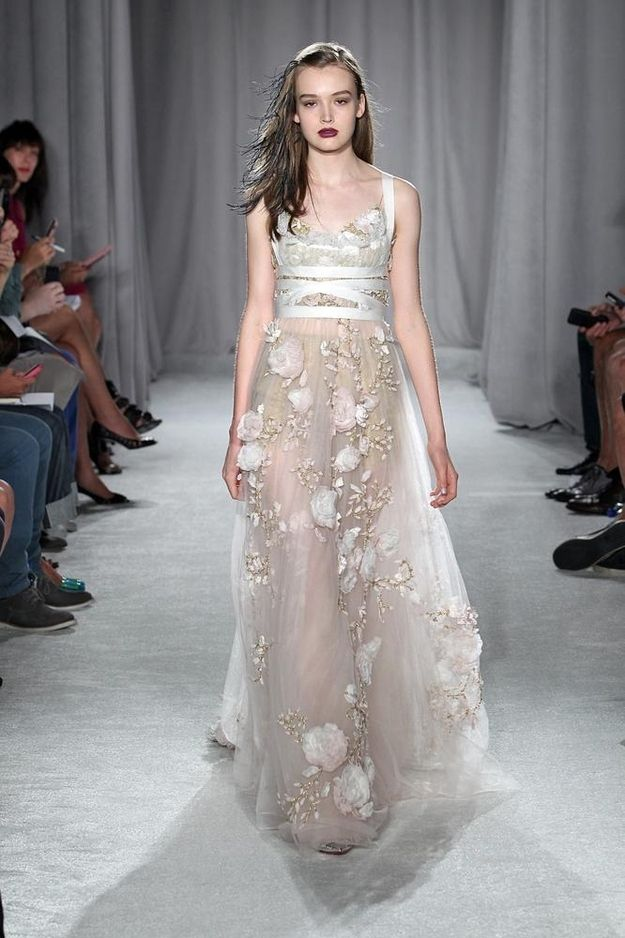 "Definitive Proof ""Games Of Thrones"" Style Has Infiltrated Fashion Week Marchesa Spring/Summer 2014"