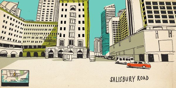 Around the World in 80 Days- with Street View Sketches - http://kck.st/1LLiGuv