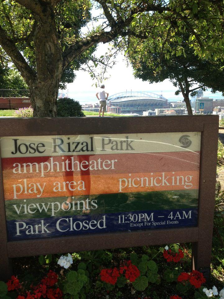 Dr. Jose Rizal Park in Seattle, WA