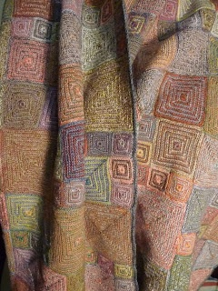 l'uccello: Sophie Digard scarves are in! You really need to visit her blog, this woman makes beautiful things