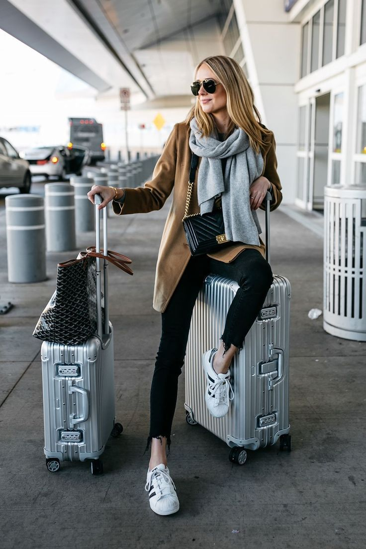 Wear On The Plane Comfy Travel Outfit Travel Clothes Women Best Travel Clothes