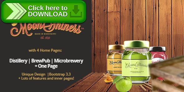 [ThemeForest]Free nulled download Moonshiners - Distillery, Microbrewery & Brewpub from http://zippyfile.download/f.php?id=22279 Tags: brewery, brewpub, creative, distillery, html, landing page, mircrobrewery, moonshine, owl slider, parallax