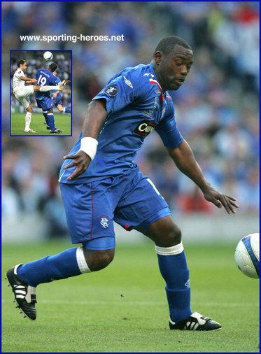 Jean-Claude Darcheville - Rangers FC - UEFA Cup Final 2008