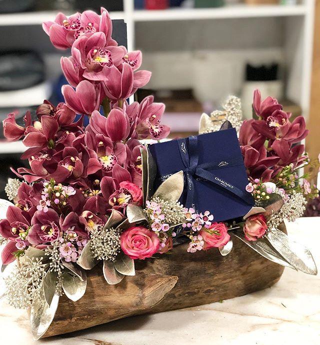 تنسيق هدية باستخدام ورد طبيعي Balloon Gift Wedding Gift Pack Bridal Gifts