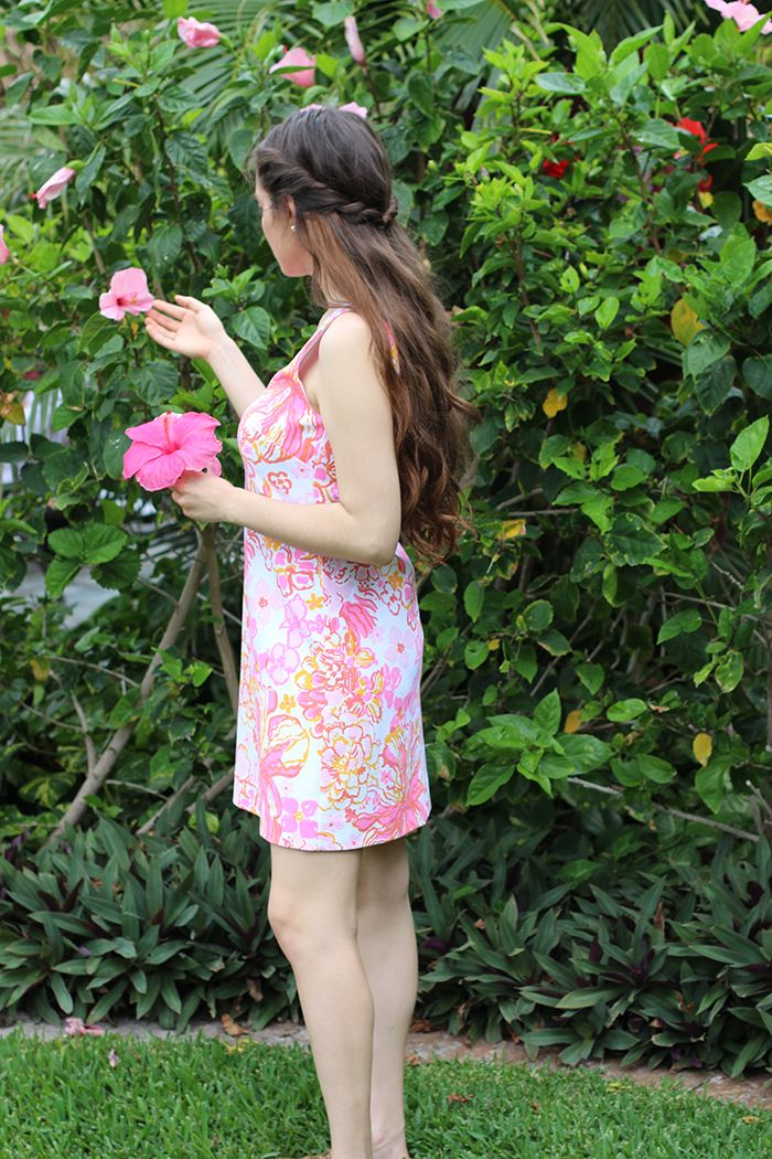 lila pulitzer, lilly pulitzer in hawaii, lilly pulitzer dress