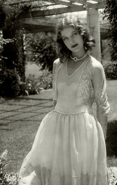 Not a big Loretta Young fan but still a pretty photo.
