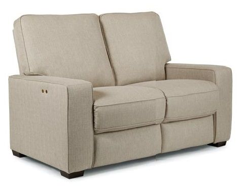 Nuvo Track Arm Power Reclining Loveseat by Best at Crowley Furniture in Kansas City.  www.crowleyfurniture.com
