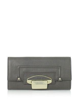 Kooba Women's Turnlock Wallet (Stone)