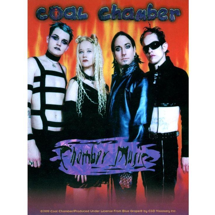 Coal Chamber Music Group Shot Decal Coal Chamber Chamber Music Danger Girl