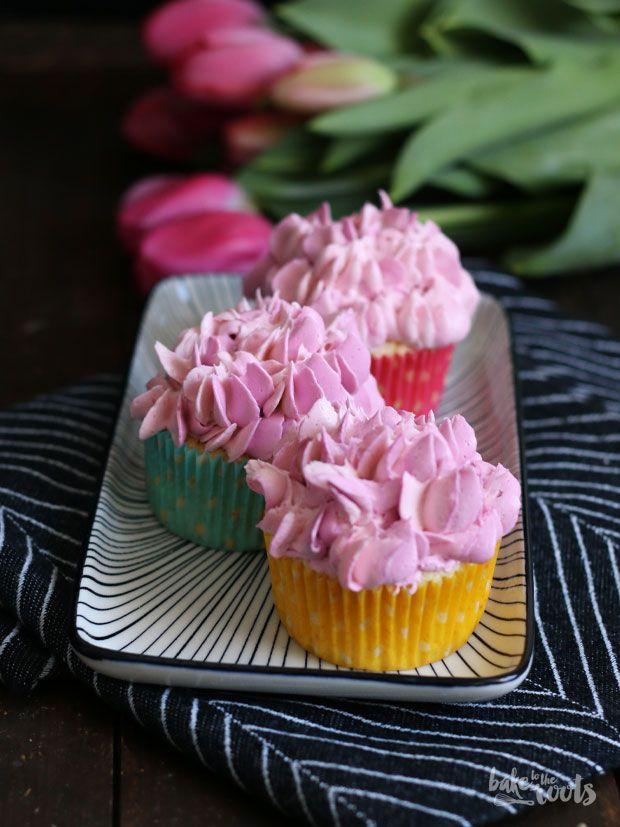 Vanille Himbeere Cupcakes