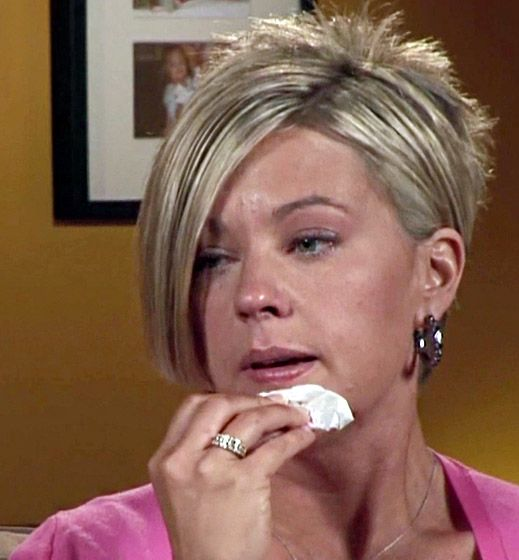 Celebrities Crying: Kate Gosselin