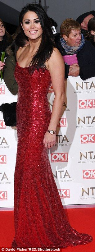 Oops! Stacey Solomon and Sam Quek both arrived at the National Television Awards sporting ...