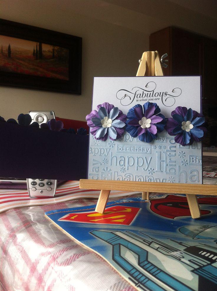 1st inner panel purple Flowerbed card