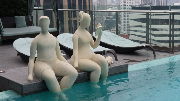 Rooftop Pool at the Hilton Sukhumvit Bangkok Hotel