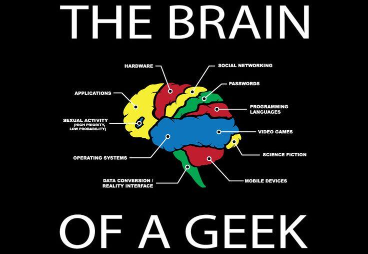 Makes sense to me.Brain T Shirts, Geek Brain, Videos Games, Cerveau Dun Geek Jpg 1000 689, Science Fiction, Doskonałi Mechanizm, Geeky Brain Jpg 1000 689, Definition Accurate, David Brain