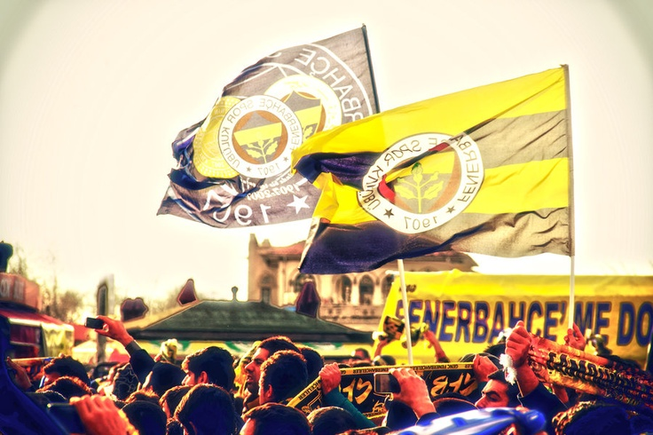 Fenerbahce Flags