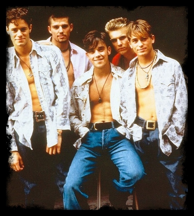 Take That - Remembering those days when I was in school and drooling over my fav boy band. This group used to make my heart melts