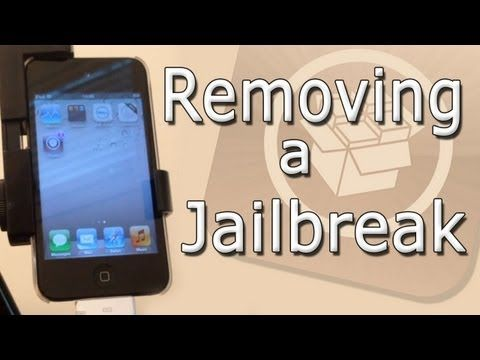 How to Remove a Jailbreak from any iDevice (iPhone/iPod/iPad)