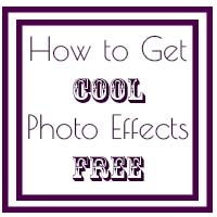 Cool Photo Effects for Free http://play2learnwithsarah.com/how-to-get-cool-photo-effects-for-free/
