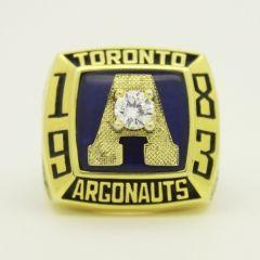 1983  Toronto Argonauts The 71st Grey Cup Championship Ring