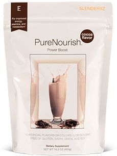 PureNourish Power Boost supports weight loss, healthy blood sugar, and lean muscle support through L-glutamine—an amino acid found in your muscles. Not only will you find a myriad of additional benefits, but a delicious cocoa flavor boost as well. #smoothie #shake #bcaa #metabolism