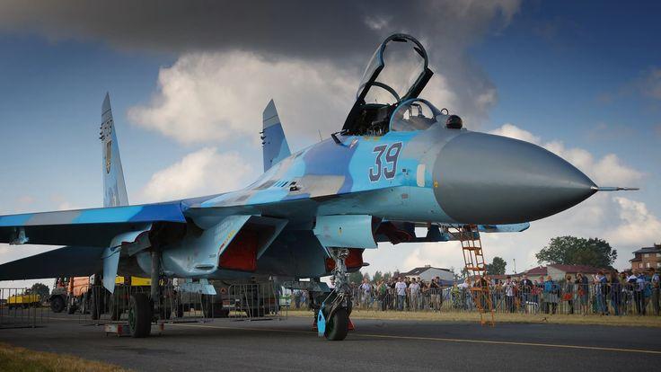 """Су-27П бортовий номер 39 """"синій"""", 831 бригада тактичної авіації"""