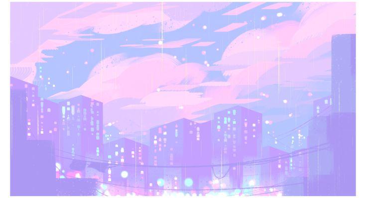 Argodeon anime aesthetic background landscape