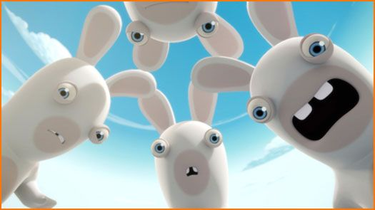 Nickelodeon Rabbids TV Show  Am I the last to know.....?