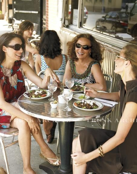 Here's to the ladies who lunch ... Love having lunch with my girlfriends!