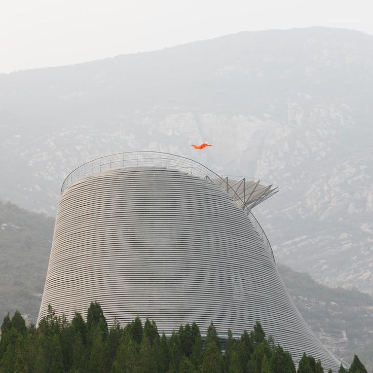 Readers are full of praise for this amphitheatre in China, which features a huge wind tunnel that allows monks to levitate.
