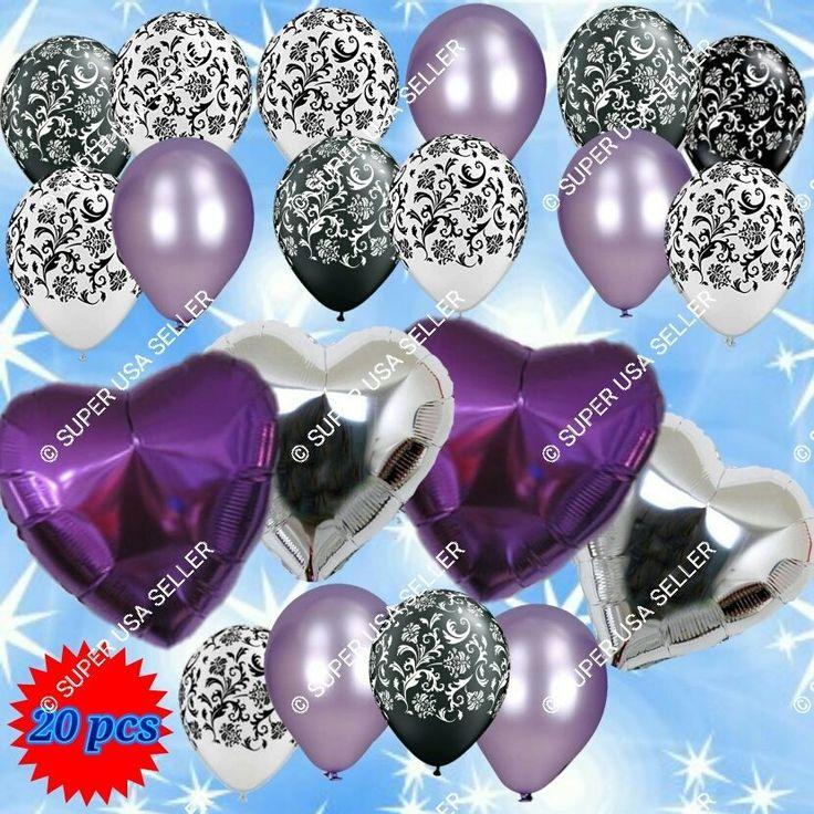 Wedding Bridal Shower Debut Valentines Balloons Decor Birthday Party Supplies B #Qualatex #BridalShowerWeddingValentinesAnniversary