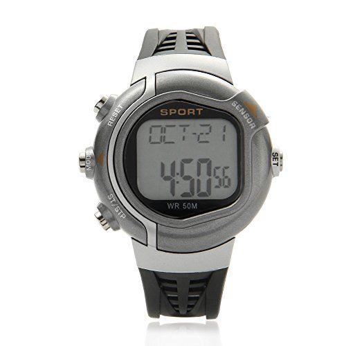 O.R.® (Old Rubin) Reloj con pulsómetro e indicador de calorías consumidas para fitness y cross-training