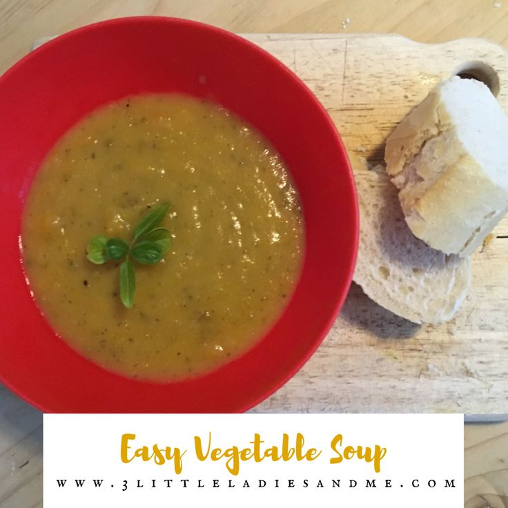 This is a gorgeous hearty and easy to make soup recipe packed full of vegetables. My children love it. Find the recipe here: http://www.3littleladiesandme.com/2016/03/veggie-bobbly-soup.html