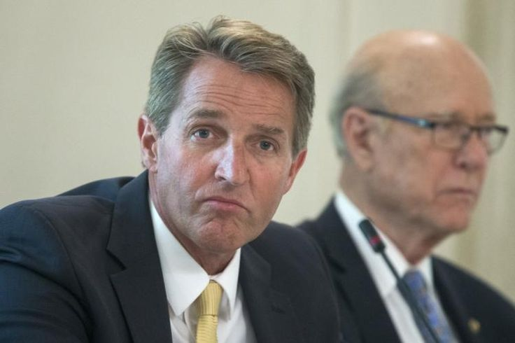 Jeff Flake bashes fellow Republicans in essay about Trump