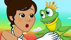 O príncipe Sapo - Historia completa - Desenho animado infantil com Os Amiguinhos - YouTube