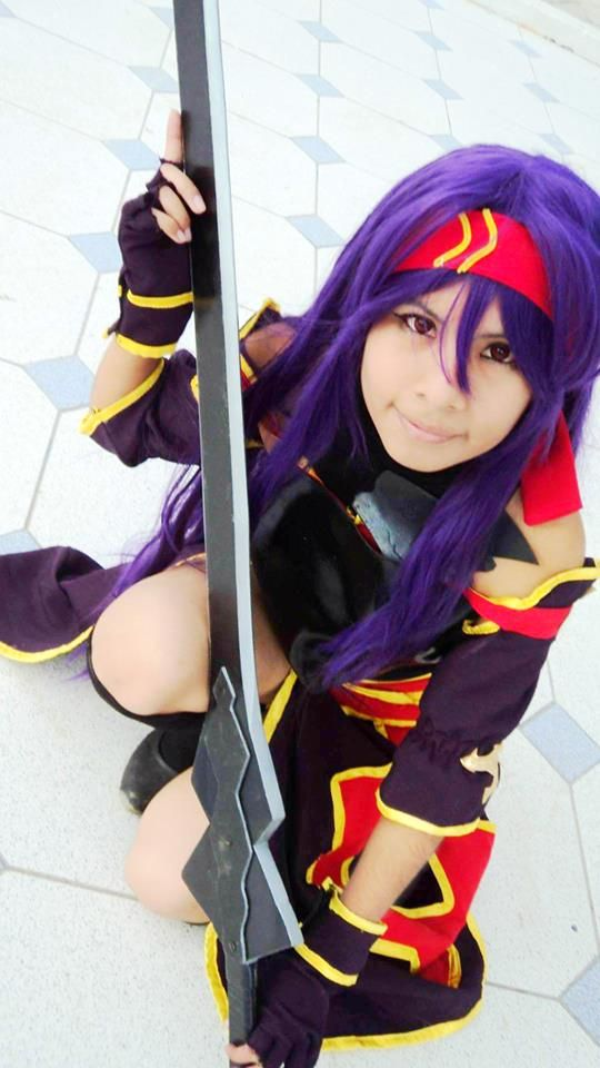 Cosplay: konno Yuuki / anime: Sword art Online - Mother Rosario / cosplayer: Xian Wang