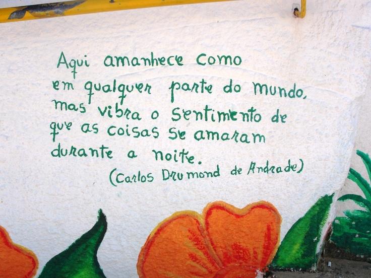 muro em Morro de SP - Bahia, 2011