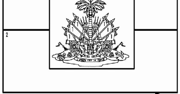 Dominican Republic Flag Coloring Sheet In 2020 Dominican