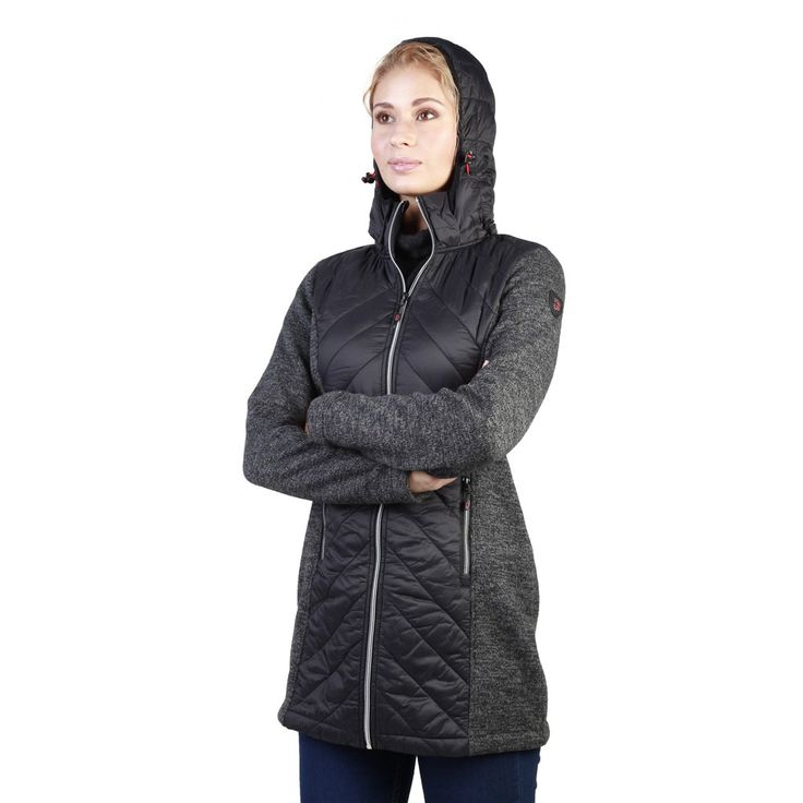 Geographical Norway Black Women Jackets