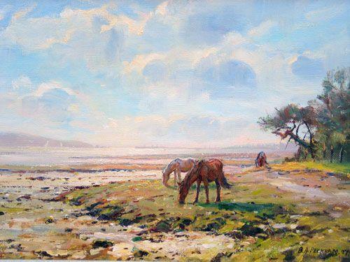 Ponies on the Solent