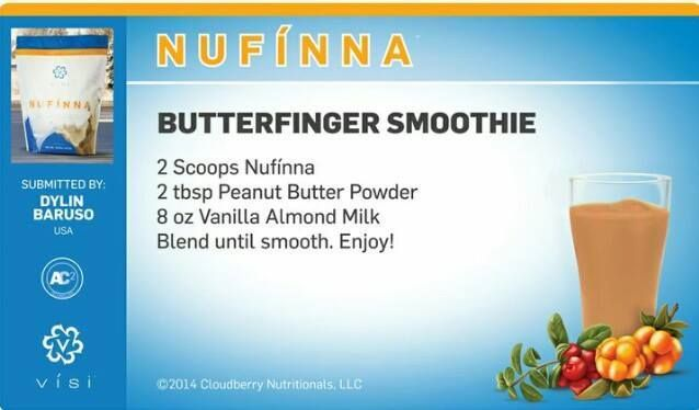 Oh my goodness, this is SOOO good! Try one today! #nufinna #butterfinger #wholebodyhealth