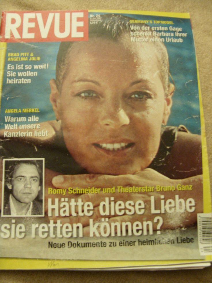 REvue 24/07 Romy Schneider,Barbara Meier, Kevin Kuranyi,Lindsay Lohan | Bücher, Zeitschriften, Frauenzeitschriften | eBay!