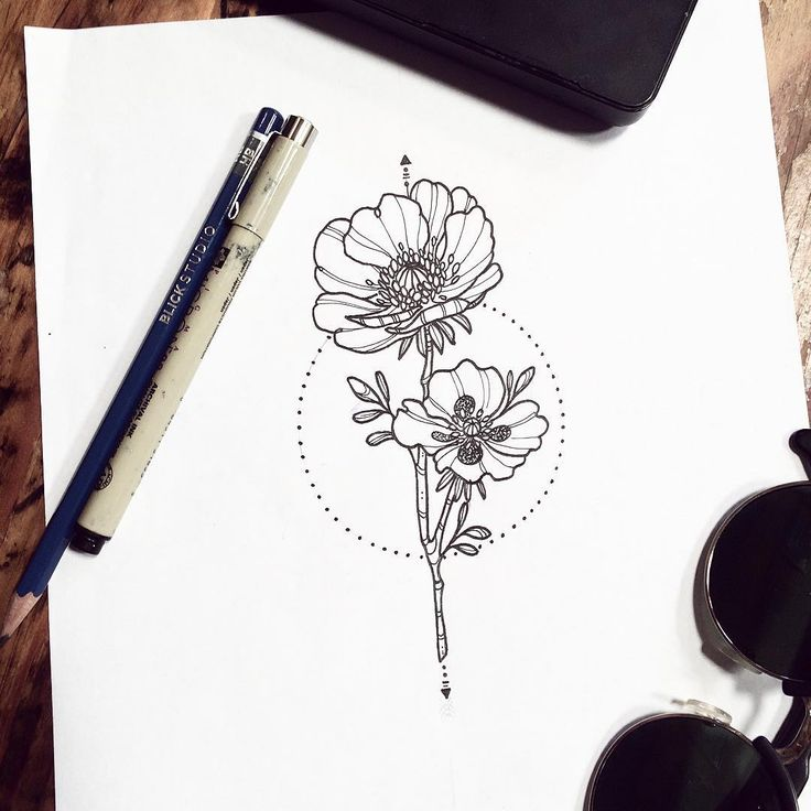 Poppy Line Drawing Tattoo : Best images about poppy tattoo on pinterest
