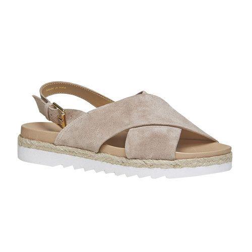 Sandali di pelle con suola appariscente Bata - Sandali Bassi - Bata scarpe online