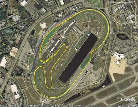 Rolex 24 At Daytona Track Layout Google Search Race