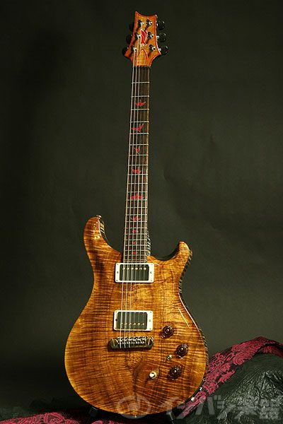 Paul Reed Smith Private Stock #3115 hollow electric guitar.  I am a big fan of natural wood grain on a guitar.